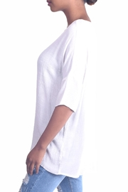Final Touch Dolman Gauze Tunic - Front full body