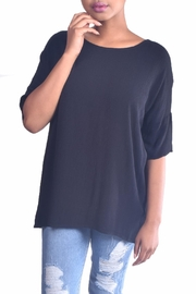 Final Touch Dolman Gauze Tunic - Product Mini Image