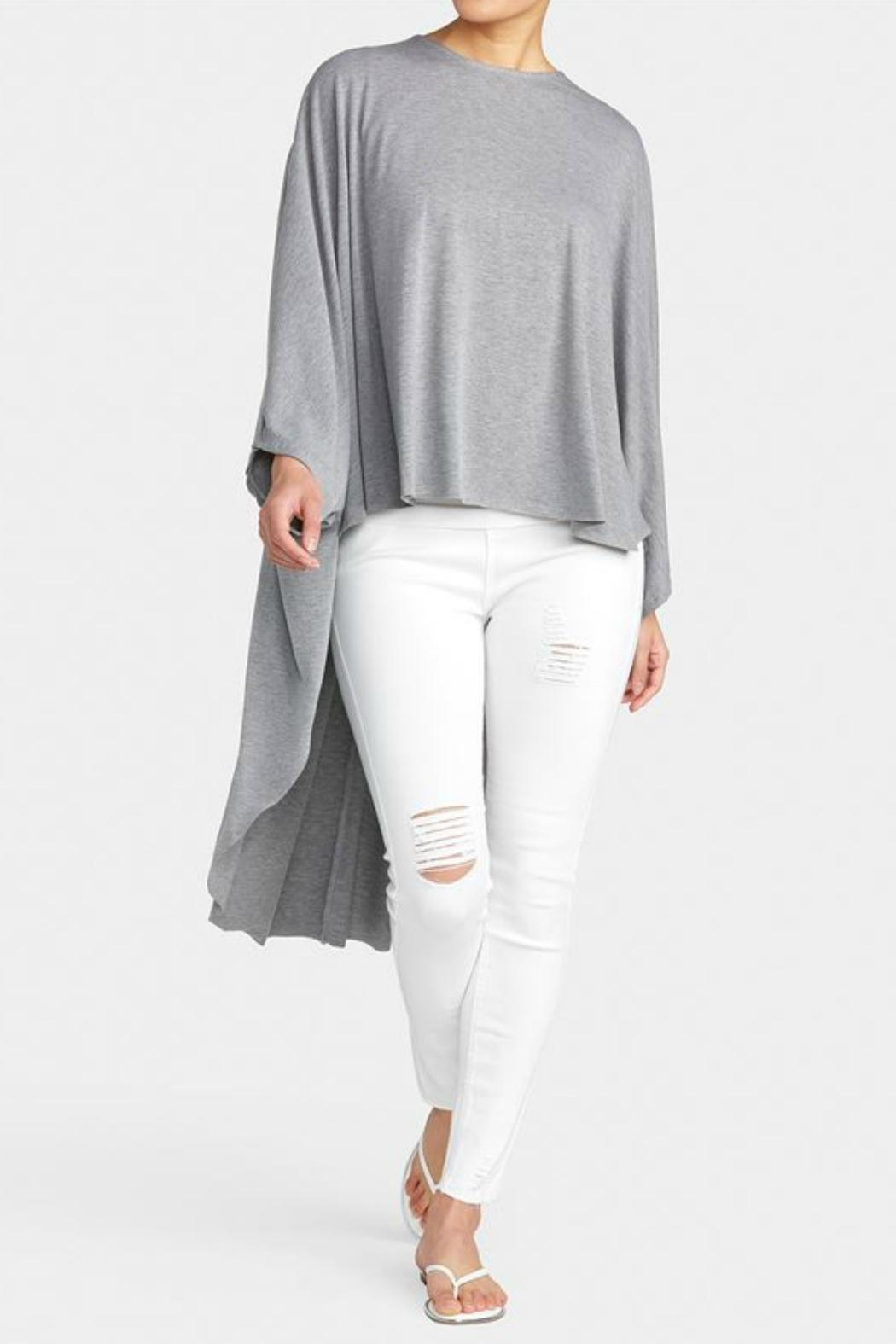 Coco + Carmen Dolman High-Low Cape - Front Cropped Image