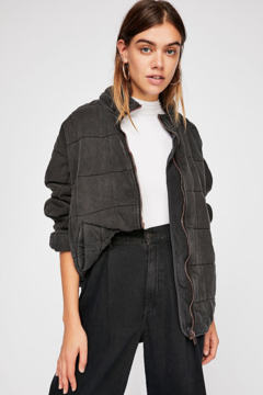 Free People  Dolman Quilted Knit Jacket - Product List Image