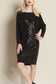 Clara Sunwoo Dolman Shimmer Dress - Product Mini Image