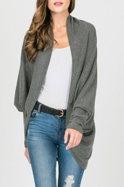 Sung Light Dolman Sleeve Cardigan - Front cropped