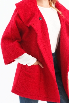 Charlie B. Dolman Sleeve Coat with Oversize Collar - Alternate List Image