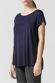 HYFVE Dolman sleeve curved hem top - Product Mini Image