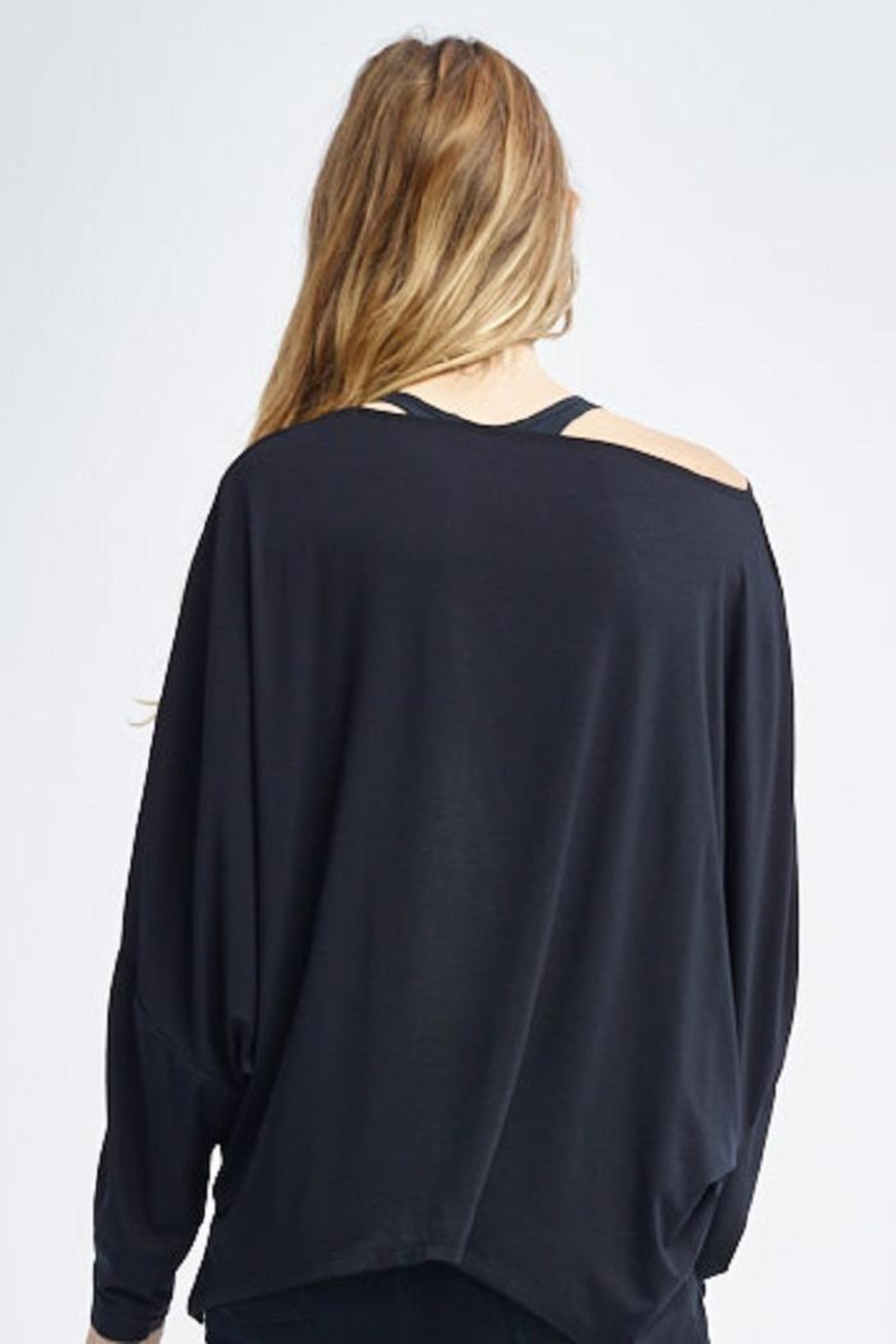 Tonic Active Dolman-Sleeve Peyton Pullover - Front Full Image
