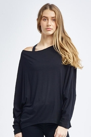 Tonic Active Dolman-Sleeve Peyton Pullover - Front cropped