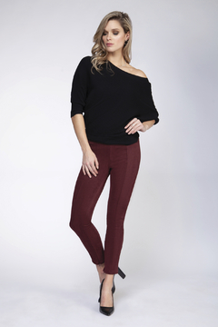 Shoptiques Product: Dolman Sleeve Ribbed Sweater