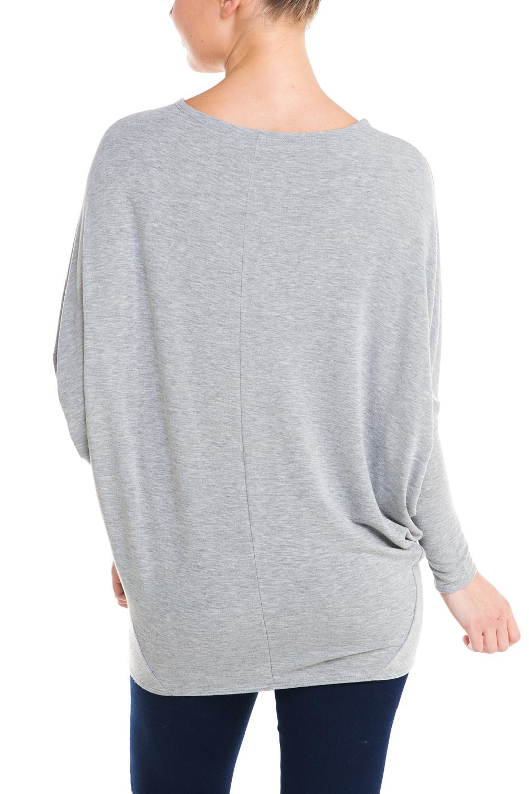 Jolie Dolman Sleeve Sweater - Back Cropped Image