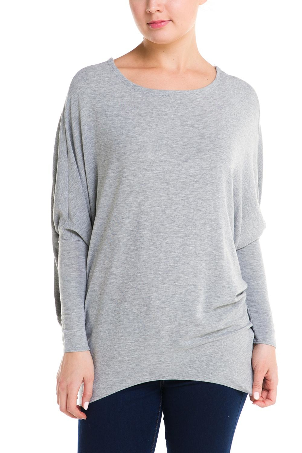 Jolie Dolman Sleeve Sweater - Front Cropped Image