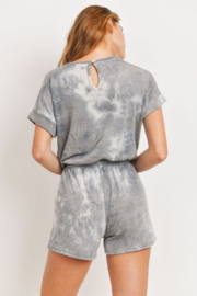 Cherish  Dolman Sleeve Tie Dye Romper w Pockets - Other