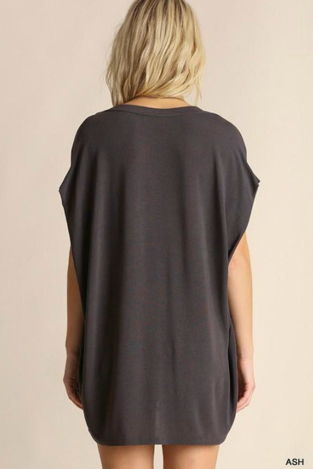 Umgee USA Dolman Sleeve Top - Front Full Image