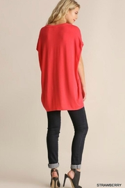 Umgee USA Dolman Sleeve Top - Front full body