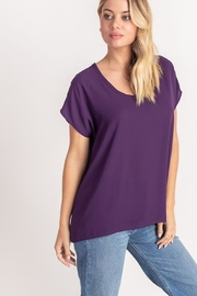 Lush Dolman Sleeve Top - Product Mini Image