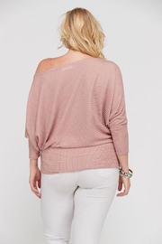 Janette Plus Dolman Sleeve Top - Back cropped