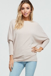Jolie Dolman Sleeve Tunic - Front cropped