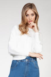 Dex Dolman SLV Textured Top - Front cropped