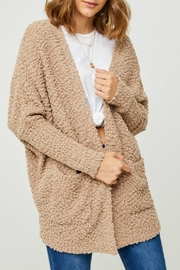 Hayden Los Angeles Dolman Teddy Cardigan - Front full body