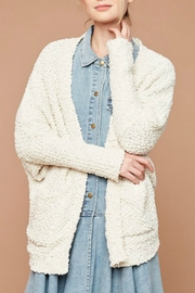 Hayden Los Angeles Dolman Teddy Cardigan - Side cropped