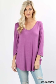 Zenana Outfitters Dolphin Hem Top - Product Mini Image