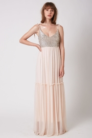 ShuShine Dominique Dress Pink - Side cropped