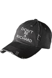 R+D Hipster Emporium  Don't Be A Richard Hat - Product Mini Image