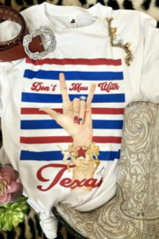 Studio by Jodi Don't Mess With Texas T-Shirt - Product Mini Image