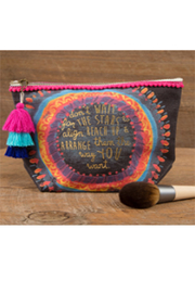 Natural Life Don't Wait For The Stars Canvas Pouch - Product Mini Image