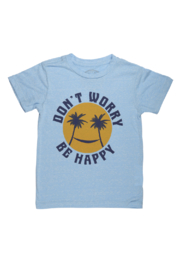Tiny Whales  Don't Worry Tee - Product Mini Image