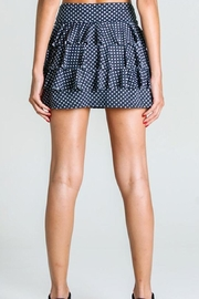 Dona Jo Ruffled Tennis Skirt - Front full body