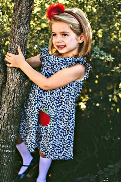 Dondolo Pinafore Apple Dress - Product List Image