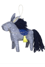 Meri Meri Donkey Felt Tree Decoration - Product Mini Image