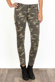 KUT Donna Camo Side Pocket Ankle Pant - Product Mini Image