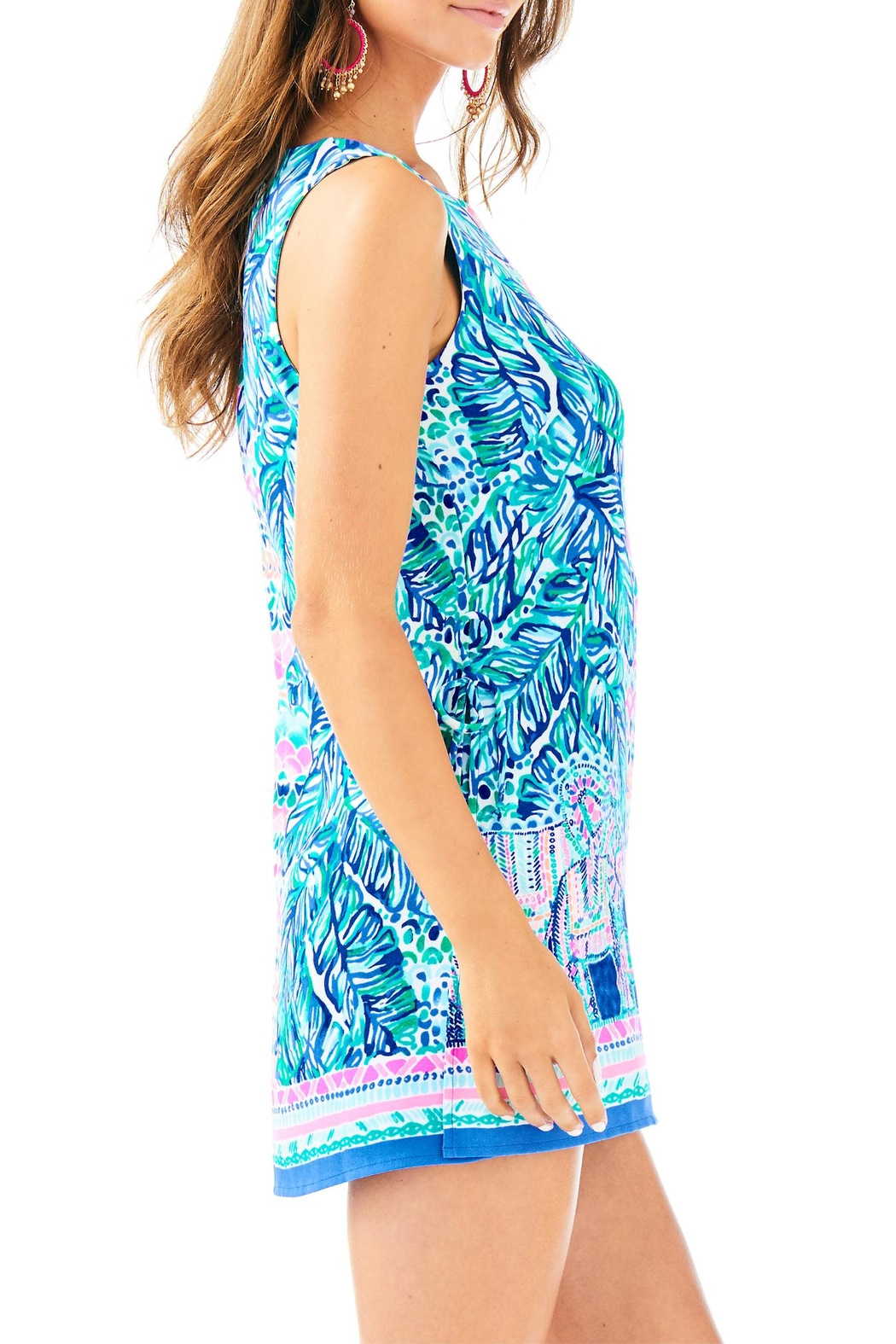 Lilly Pulitzer Donna Romper - Side Cropped Image
