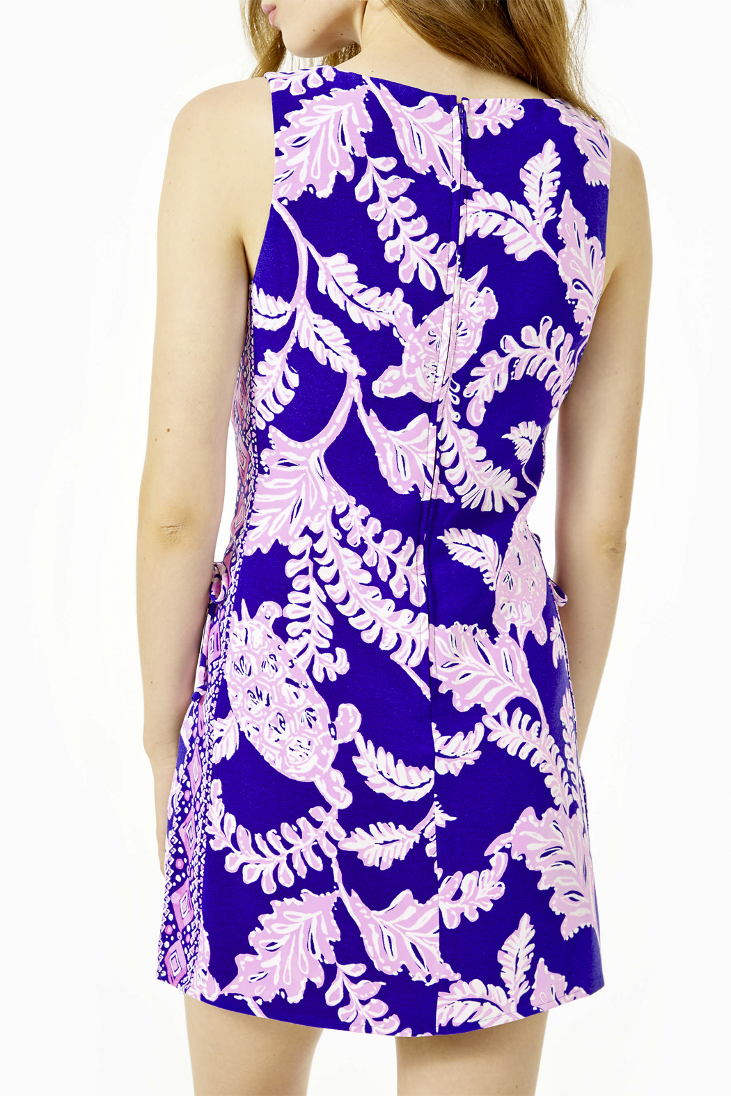 Lilly Pulitzer  Donna Shift Romper - Side Cropped Image