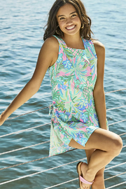 Lilly Pulitzer Donna Square Neck Romper - Product Mini Image