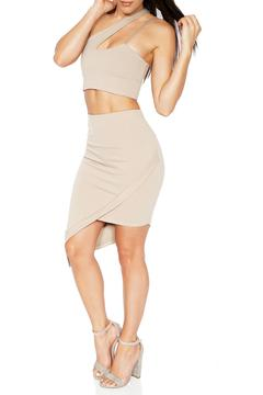 Shoptiques Product: Asymmetrical Mini Skirt
