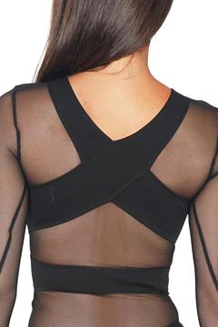 Shoptiques Product: Front Cut Out Bodysuit