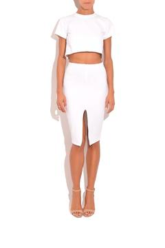 Shoptiques Product: Front Slit Skirt