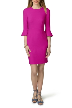 Donna Morgan Bell Sleeve Sheath Dress - Product List Image