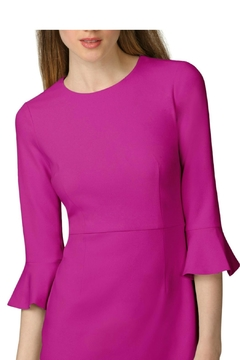 Donna Morgan Bell Sleeve Sheath Dress - Alternate List Image