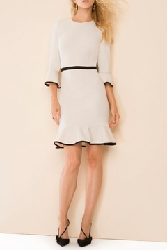 Donna Morgan Flounced Shift Dress - Alternate List Image
