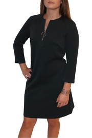 Donna Morgan Green Zipper Dress - Front full body