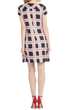 Shoptiques Product: Lila Polyester-Twill Trapeze Dress