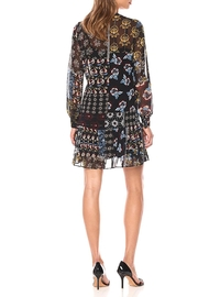 Donna Morgan Mock Two Piece Dress - Front full body