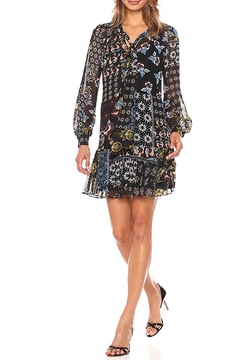 Donna Morgan Mock Two Piece Dress - Product List Image