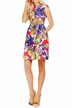 Shoptiques Product: Poppy Sateen Fit-n-Flare