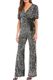 Donna Morgan Sequin Jumpsuit D6967m - Product Mini Image