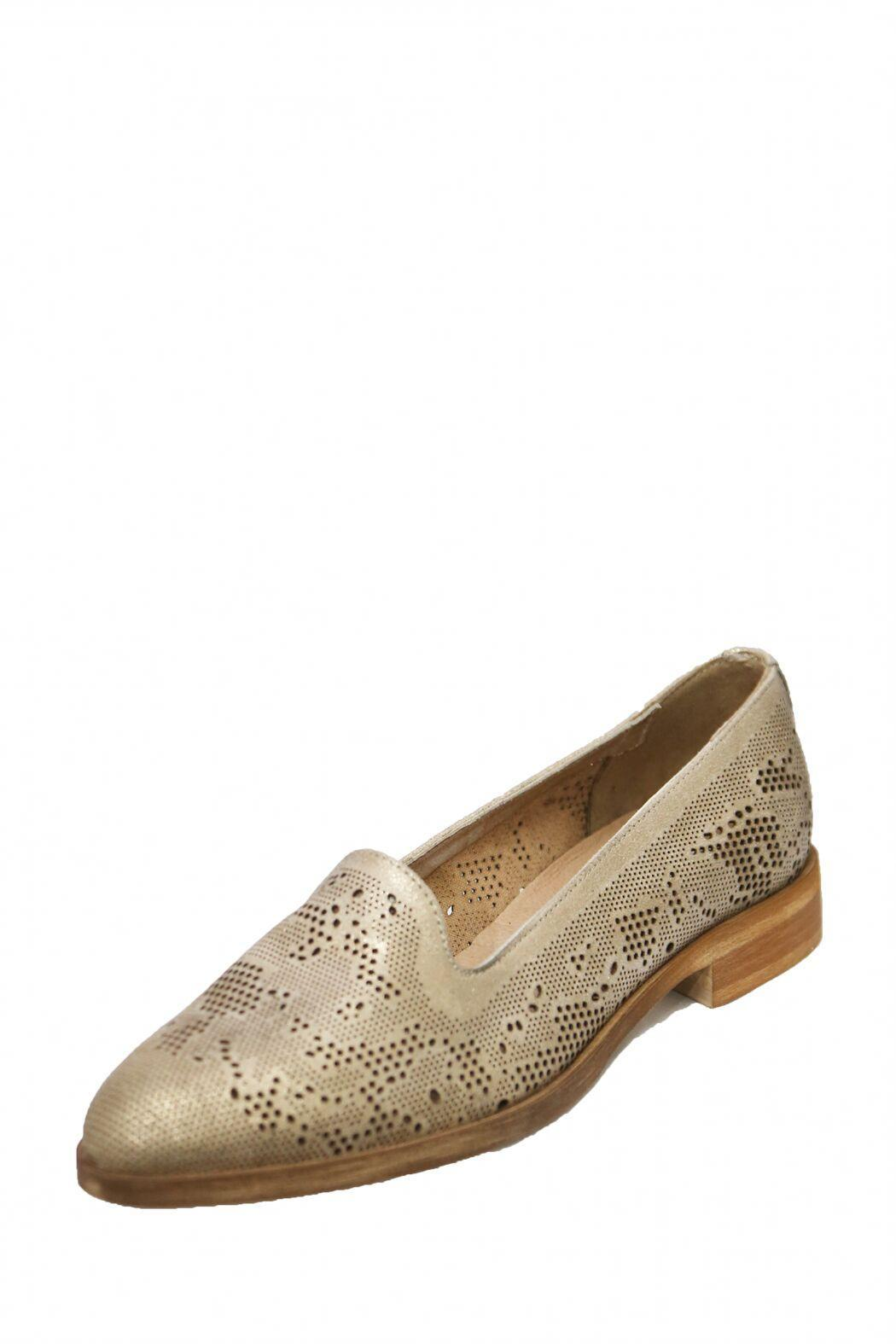 Donna Piu Brown Dressy Loafer - Front Full Image