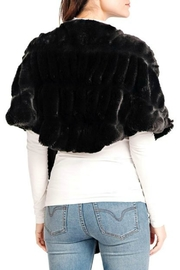 Donna Salyers Couture Mink Shrug - Front full body