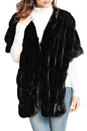 Donna Salyers Couture Mink Shrug - Front cropped